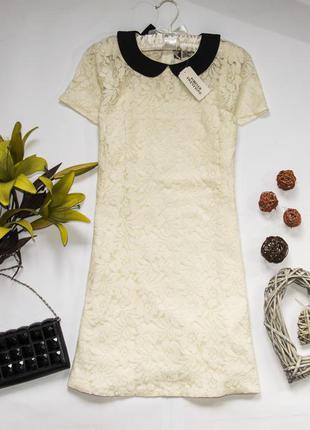 Красивое гипюровое платье в составе котон forever 21