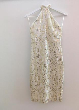 Платье в паетки asos