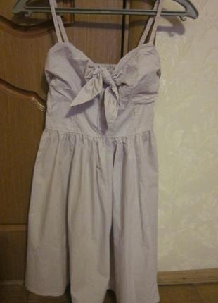 Летнее платье h&m размер  xs-s