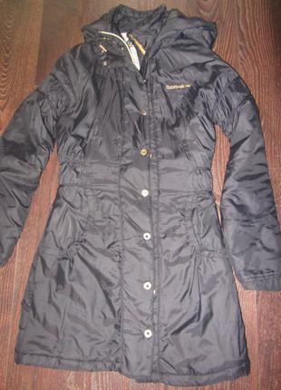 Фирменное пальто-куртка reebok оригинал