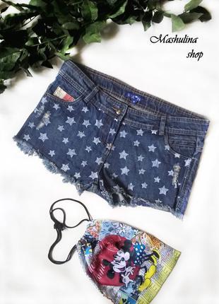 Короткие джинсовые шортики  blue inc