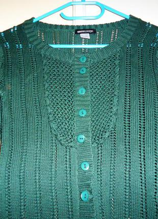Свертик на гудзиках темно-зеленого кольру