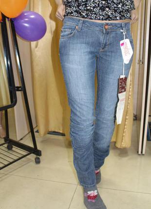 Серо-синие женские джинсы турция madoc, размер 26