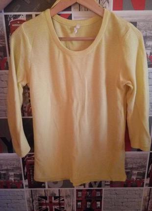 Желтая кофта stradivarius
