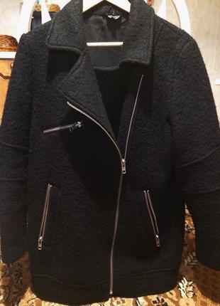 Модное пальто оверсайз тopshop.