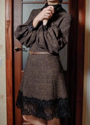 Шикарное платье в ретро стиле
