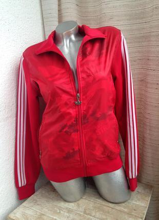Спортивный костюм  adidas черный красный