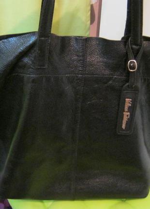 V.fabbiano, нат.кожа.сумка шоппер. дешево!