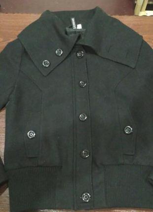 Черное пальто, куртка