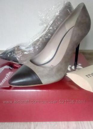 Новые изумительные туфли mascotte 38р