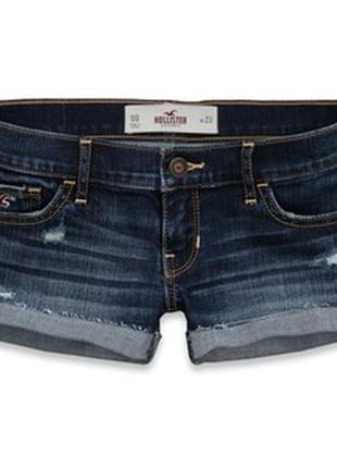 Снизила цену джинсовые шорты hollister 25 размера
