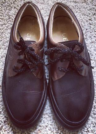 Топсайдеры ботинки salamander