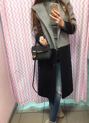 Стильное кашемировое пальто с подкладкой