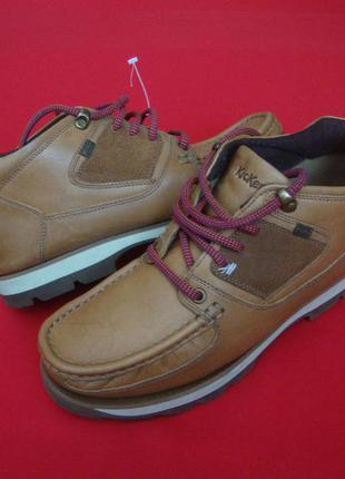 Ботинки kickers оригинал натур кожа 41 размер
