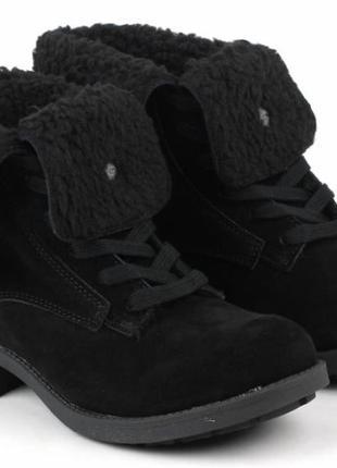 Черные замшевые ботинки в стиле тимберленд rocket dog оригинал 37 размер
