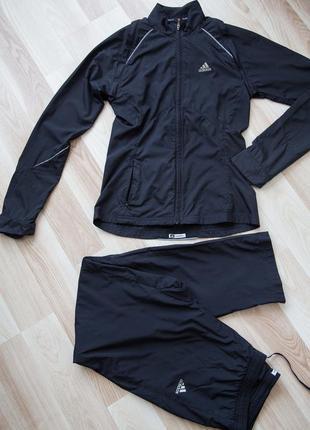 Спортивный костюм adidas climaproof365трансформер (оригинал),для спорта, р.s-m