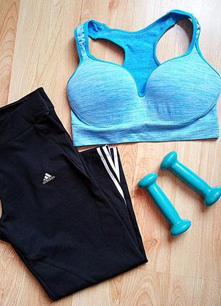 Adidas спортивные лосины штаны бриджи