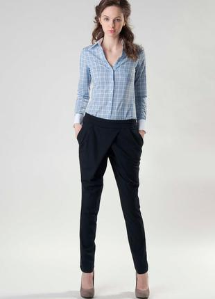 Класические брюки с запахом