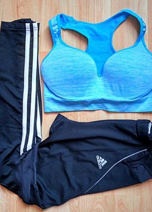 Adidas спортивные лосины штаны