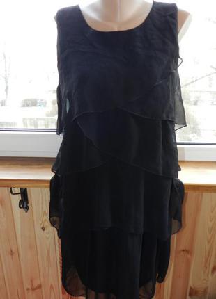 Безупречное  черное платье rosa rosa 16 размер