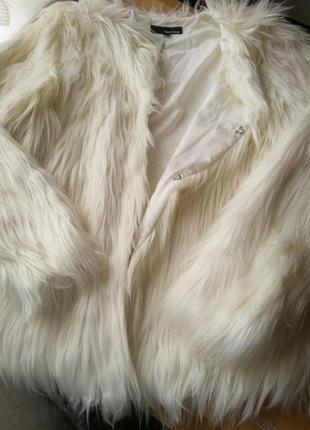 Шерстяная куртка, жакет цвета слоновая кость tally weijl