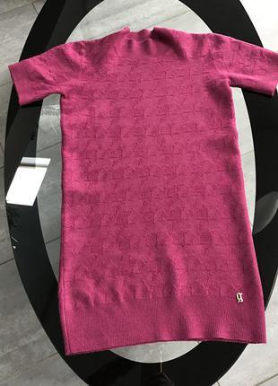 Galliano свитерок цвета марсала xxs