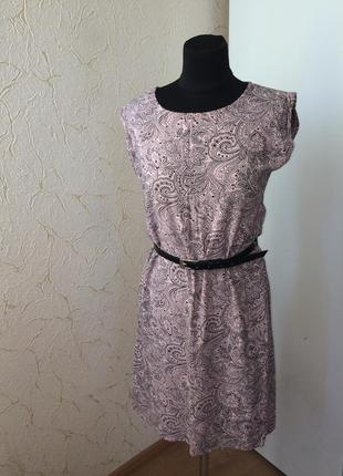 Легкое платье с карманами oodji ultra