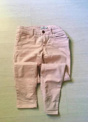 Розовые джинс котоновые