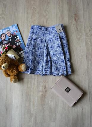 Новые шорты-юбка в принт atmosphere