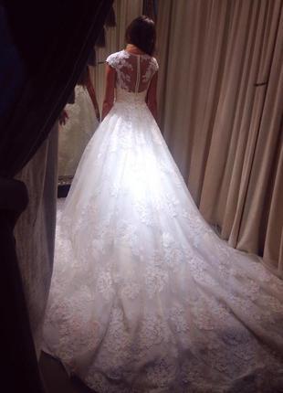 Свадебное платье первая линия подиум missoni