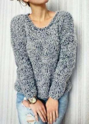 Тепленький свитер-травка atmosphere