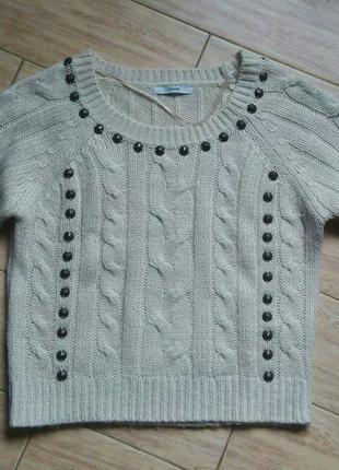 Кпор топ вязанный теплый свитер