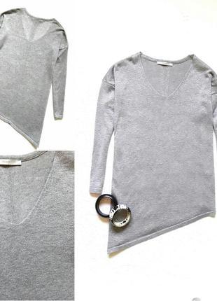 Стильный серебряный свитерок от george
