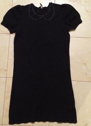 Черное платье topshop