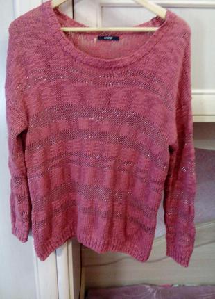 Летний пуловер необыкновенно красивого цвета