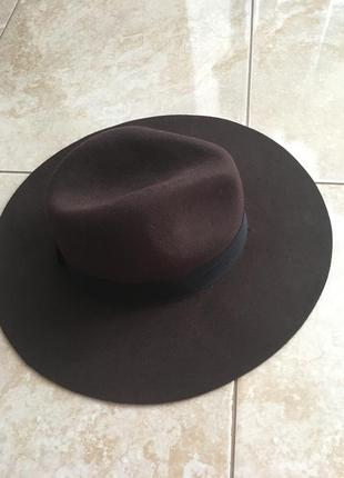 Шляпа капелюх федора zara