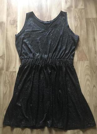 Блестящие платье mango
