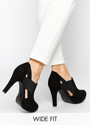 Замшевые туфли осенние демисезонные ботинки весенние ботильоны new look 81677