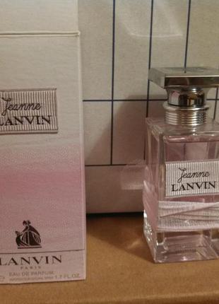 Парф. вода lanvin jeanne