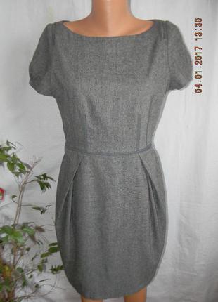 Теплое платье zara basic