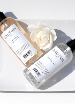 Спрей для волос new стайлер эффект после моря texturizing salt spray 200ml balmain