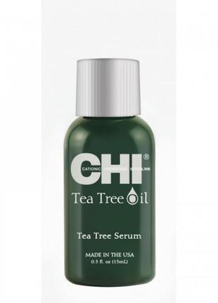 Chi tea tree oil serum - сыворотка с маслом чайного дерева для волос