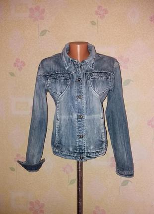 Куртка джинсовая джинсовка л-хл