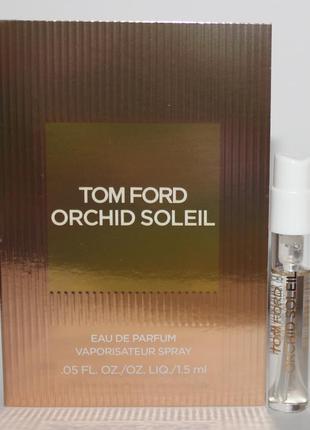 Tom ford orchid soleil пробник оригинал