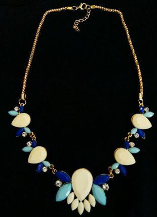 Ожерелье цепочка подвеска колье
