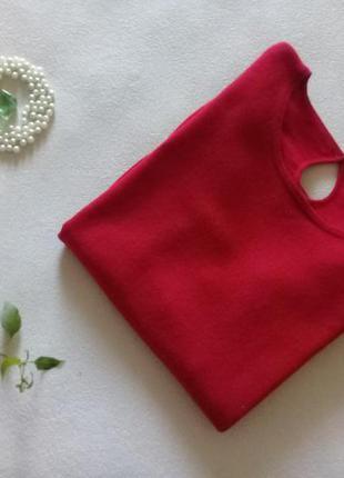 Свитерок чистый кашемир цвета спелой вишни р.46-48 от petite