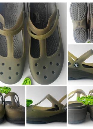 Оригінальні crocs крокс w 11 41 розміру