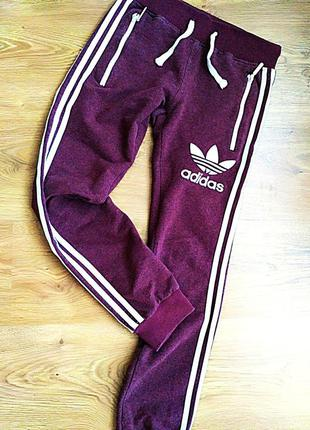 Спортивные штаны adidas,размер хс-с