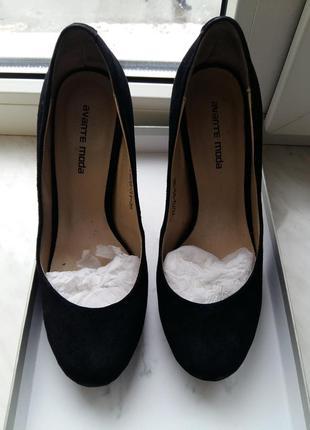 Туфли замшевые mario muzi