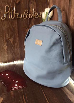 Рюкзак нежно-голубого цвета